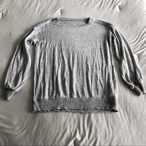 AE Bubble Sleeve Soft Sweater